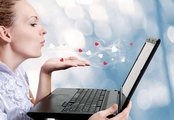 Encontrar o amor online